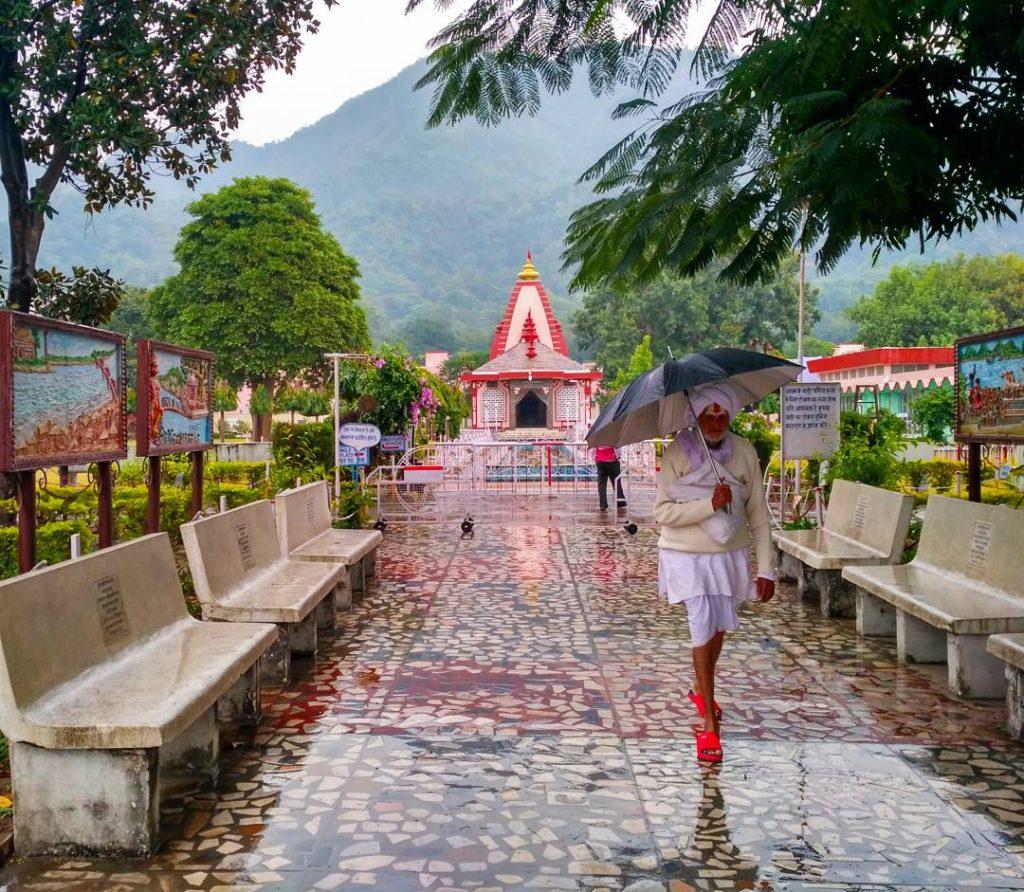 Дождь в Рамджуле, Ришикеш